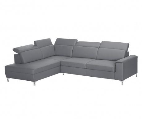 Ляв ъглов диван Serafino Grey