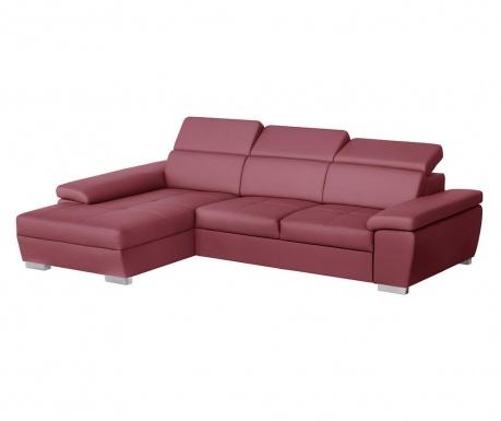 Ляв ъглов диван Twinset Red