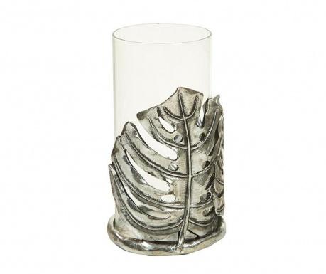 Držač za svijeću Leaf Silver