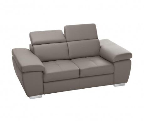 Canapea 2 locuri Parure Grey Brown
