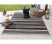 Venkovní koberec Meadow Strap Black 80x150 cm
