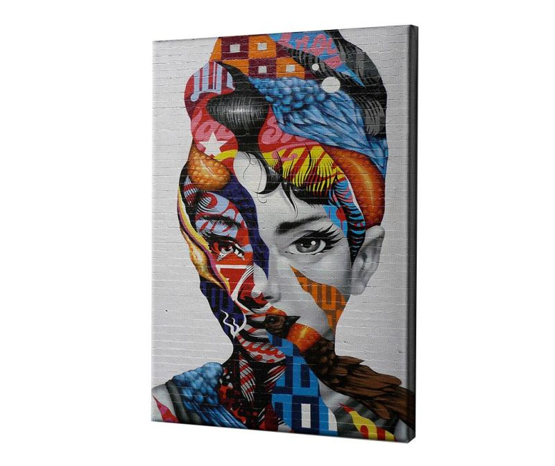 Slika Audrey of Mulberry by Tristan Eaton 40x60 cm
