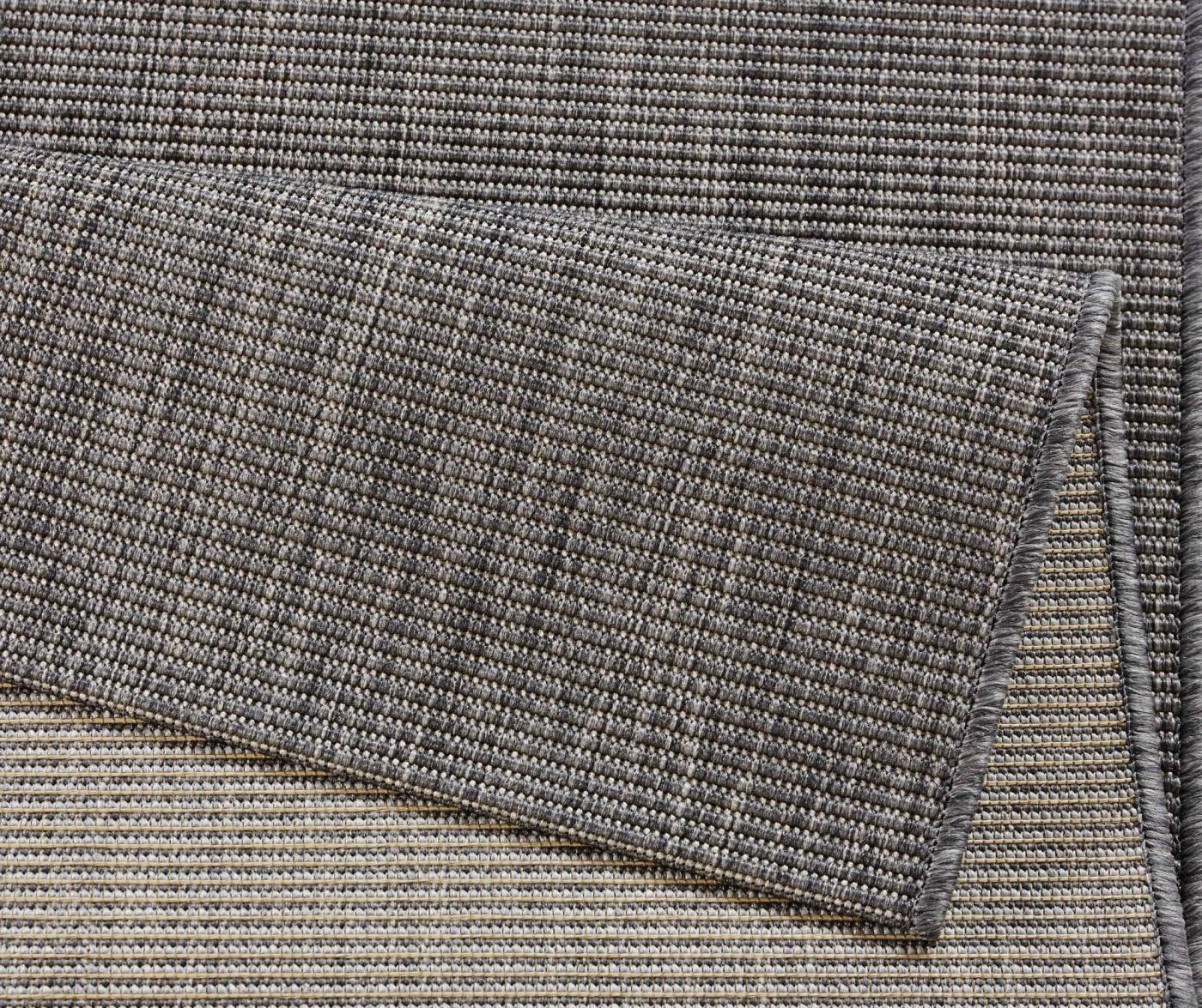 Meadow Match Anthracite Kültéri szőnyeg 80x150 cm