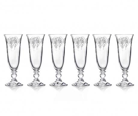 Set 6 čaša za pjenušac Piano 160 ml