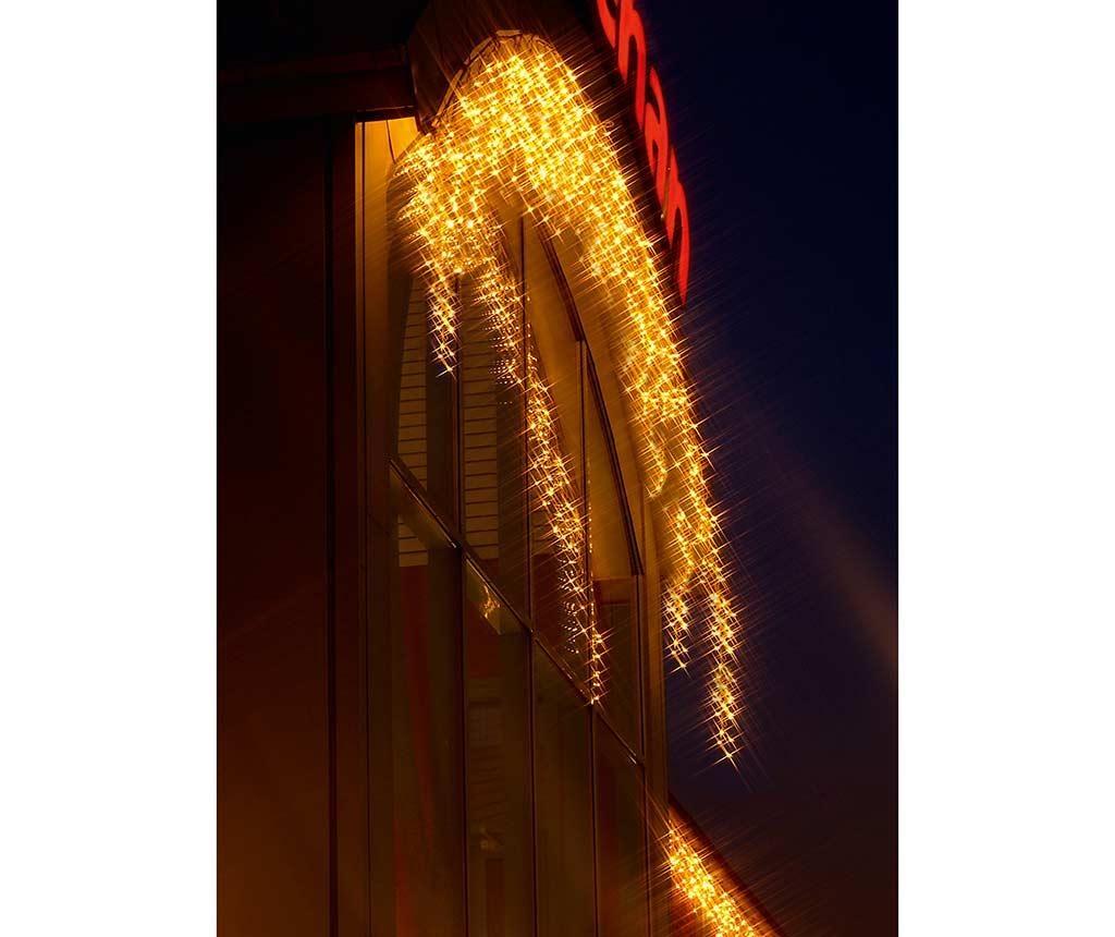 Icicle White Kültéri fényfüggöny