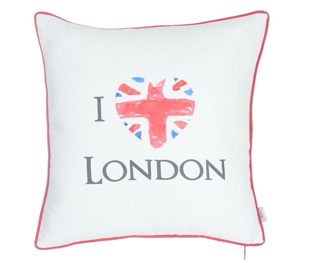 Fata de perna I Love London 43x43 cm