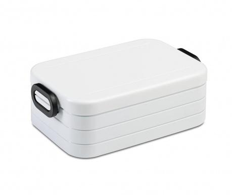 Κουτί μεσημεριανού γεύματος Take a Break White 900 ml