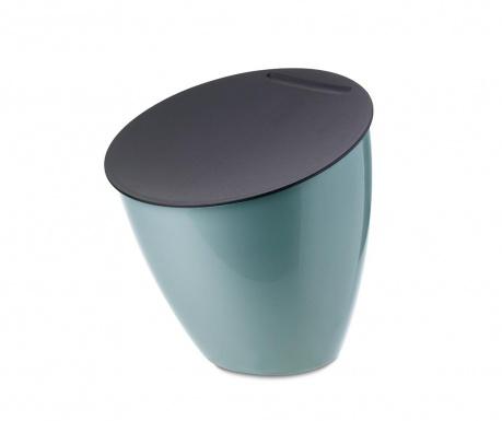 Koš za smeti s pokrovom Calypso Green 2.2 L