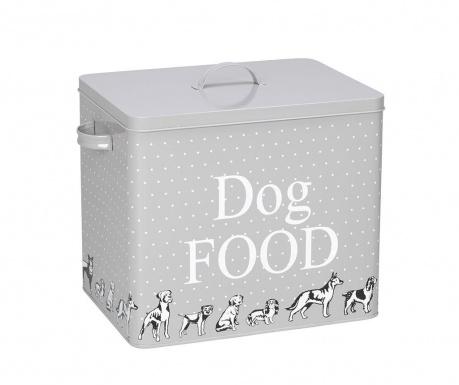 Recipient cu capac pentru hrana caini Dog Food