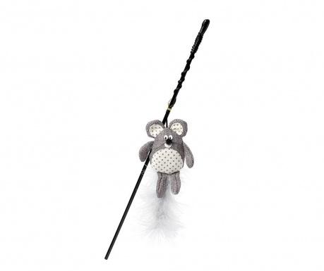 Jucarie pentru pisici Wand Mouse