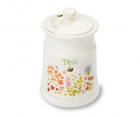 Recipient cu capac pentru ceai Bee Happy