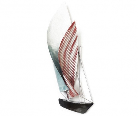 Stenska dekoracija Beaux Arts Double Sails Blue and Pink