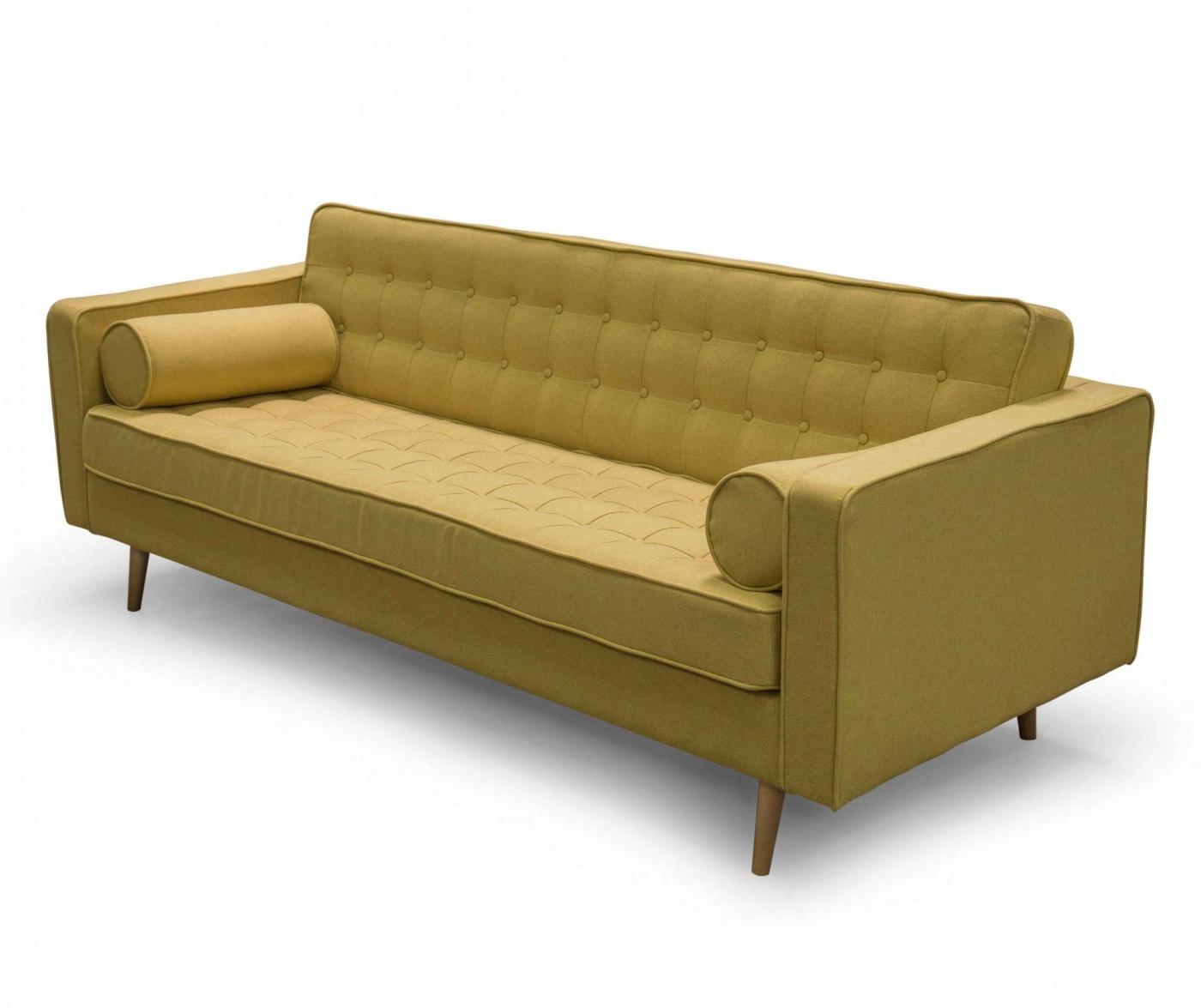Kauč trosjed Rondo Emery Mustard