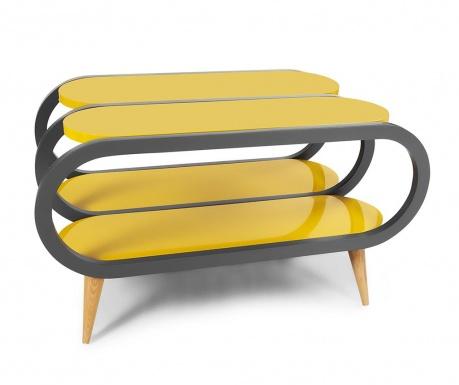 Yuvo Mustard and Anthracite Dohányzóasztal