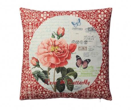 Декоративна възглавница Rose and Butterfly 45x45 см