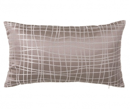 Perna decorativa Netting Old Taupe 30x50 cm