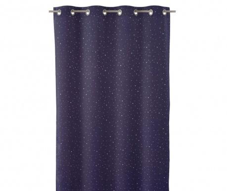 Draperie Cosmos Blue 140x260 cm