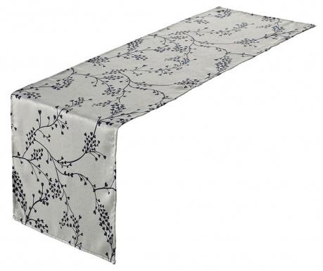 Branch White Blue Asztali futó 45x150 cm