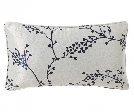Branch White Blue Díszpárna 30x50 cm