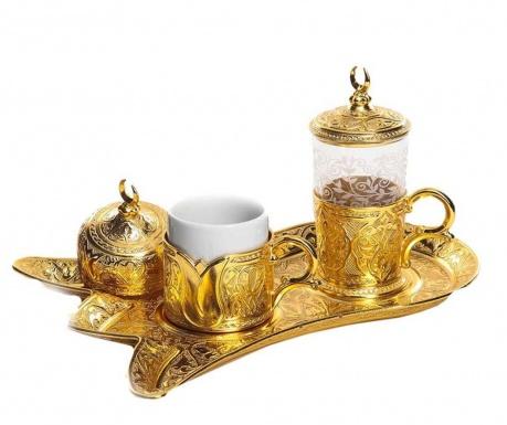 Сервиз за кафе 5 части Serim Gold