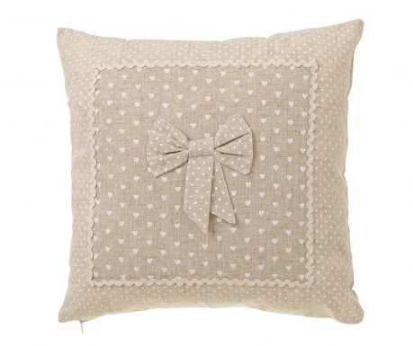 Perna decorativa Little Bow 45x45 cm