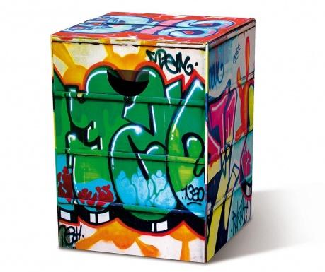 Сгъваема табуретка Graffiti