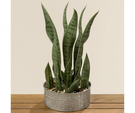 Sztuczna roślina w doniczce Aloe