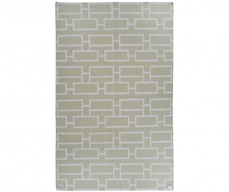 Kilim Bricks Green Szőnyeg 152x244 cm
