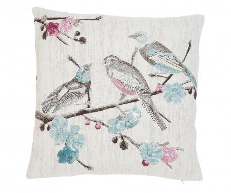 Fata de perna Singing Birds 45x45 cm