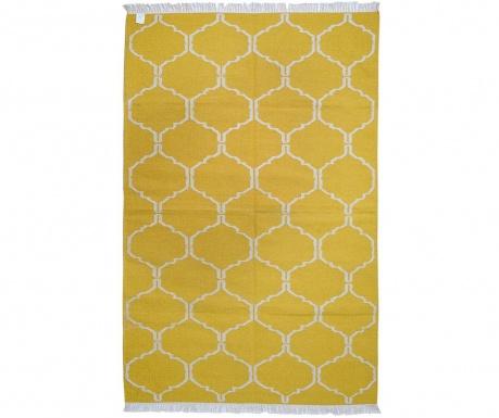 Kilim Honeycomb Gold Szőnyeg 244x305 cm