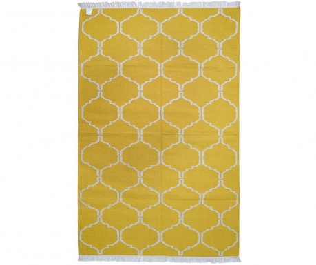 Covor Kilim Honeycomb Gold 244x305 cm