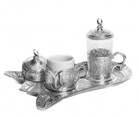 Serim Silver 5 darabos Kávéskészlet