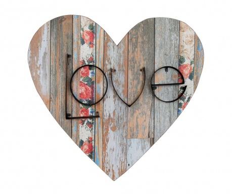 Decoratiune de perete Heart Love