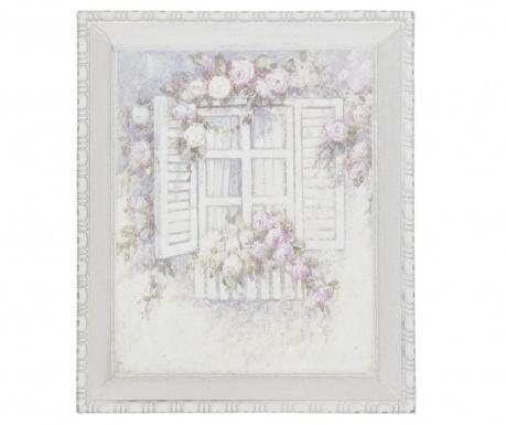 Tablou Flourish Window 27x32 cm