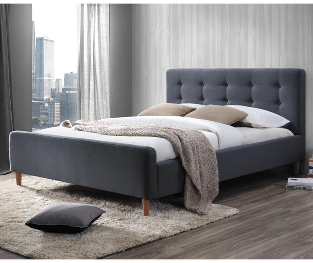 Легло Bevan Grey 160x200 см