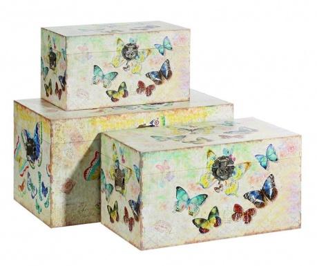 Colourful Butterflies 3 db Koffer