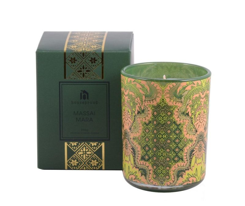 Lumanare parfumata Ornament Massai Mara
