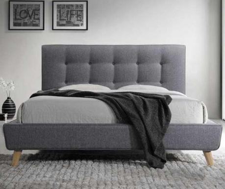 Postelja Villa Grey 160x200 cm