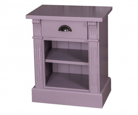Nočna omarica Directoire Purple