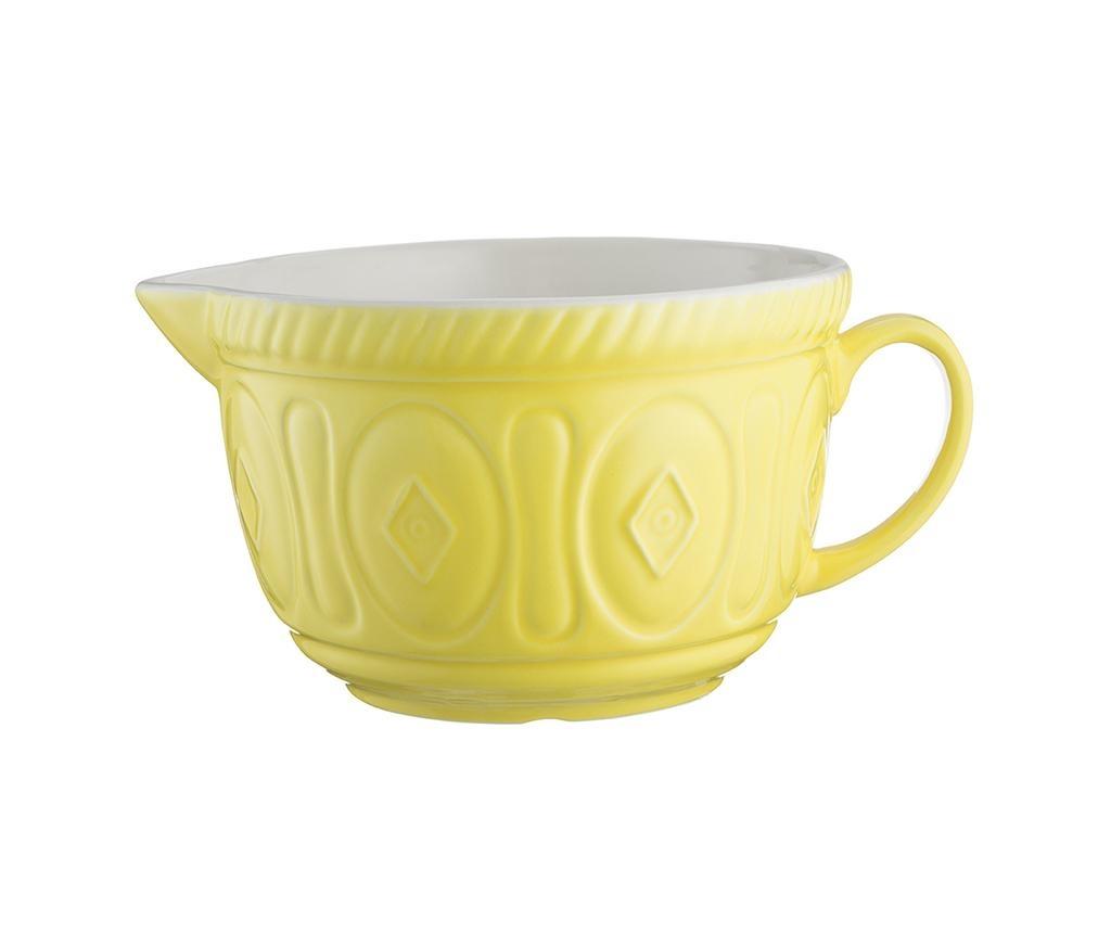 Colour Mix Bright Yellow Kelesztő tál 2 L