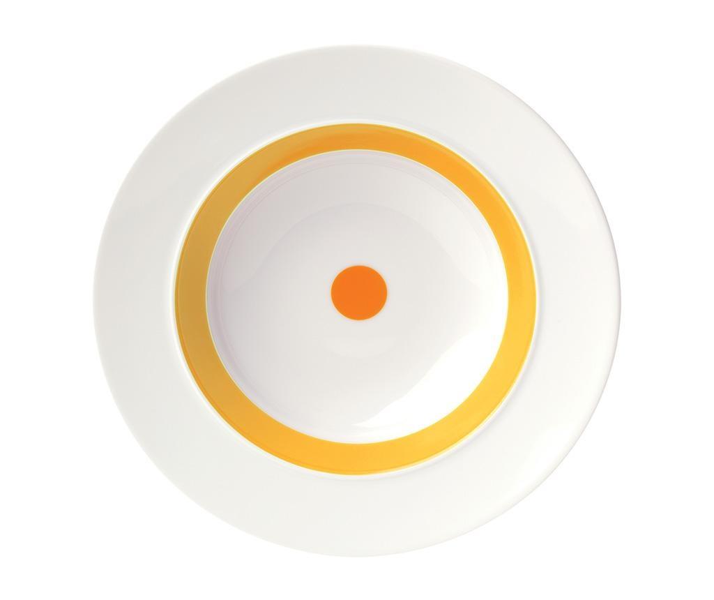 Duboki tanjur The Dot Yellow