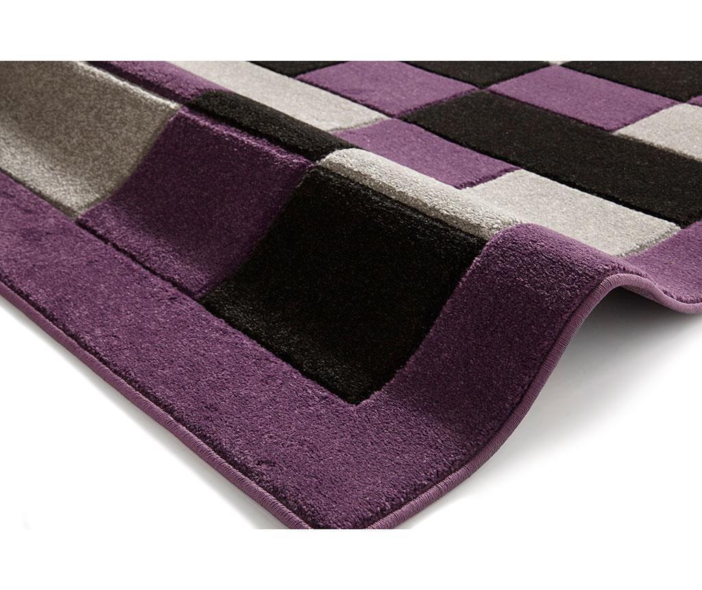 Tepih Matrix Grey Purple 60x225 cm