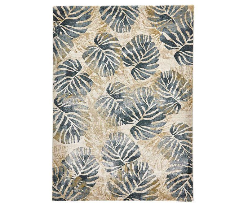 Koberec Tropics Cream Blue 160x220 cm