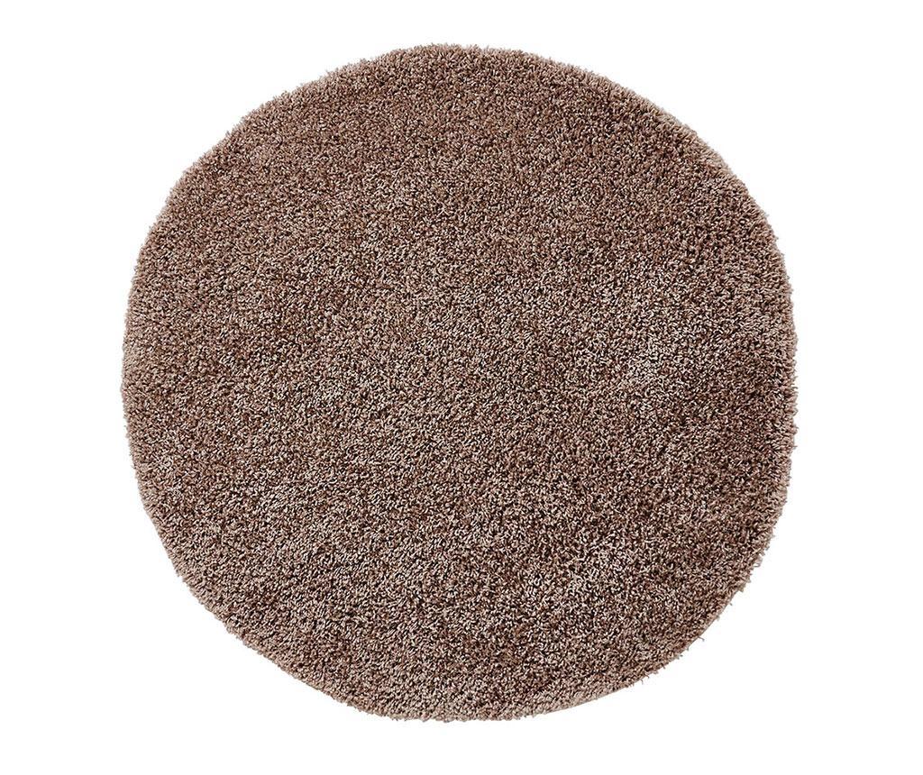 Covor Vista Circle Dark Beige 133 cm