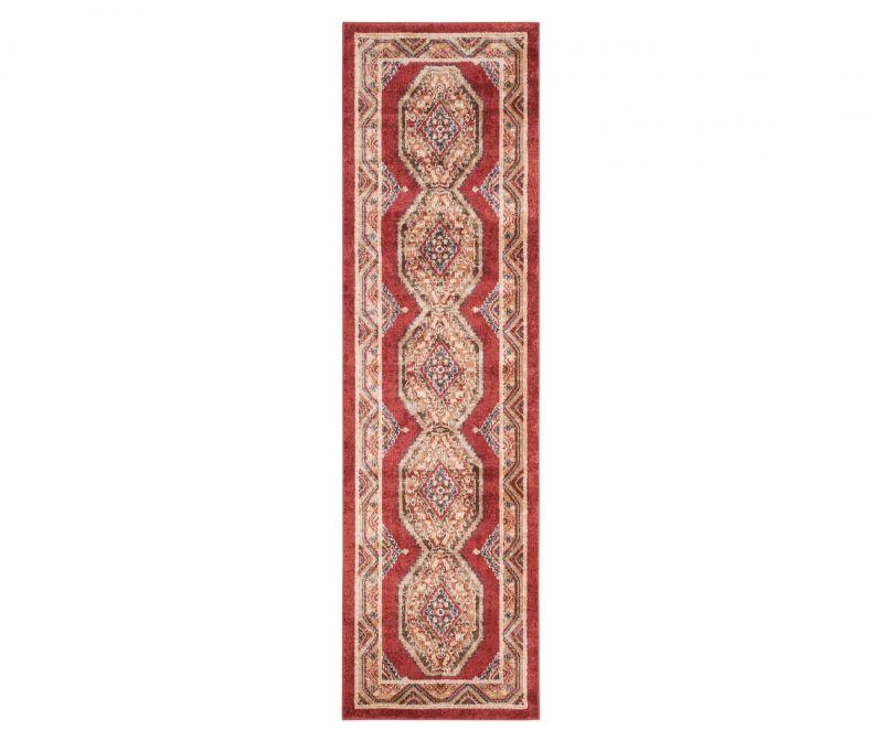 Covor Adalyn Red 62x240 cm