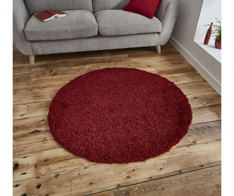 Tepih Vista Circle Red 133 cm