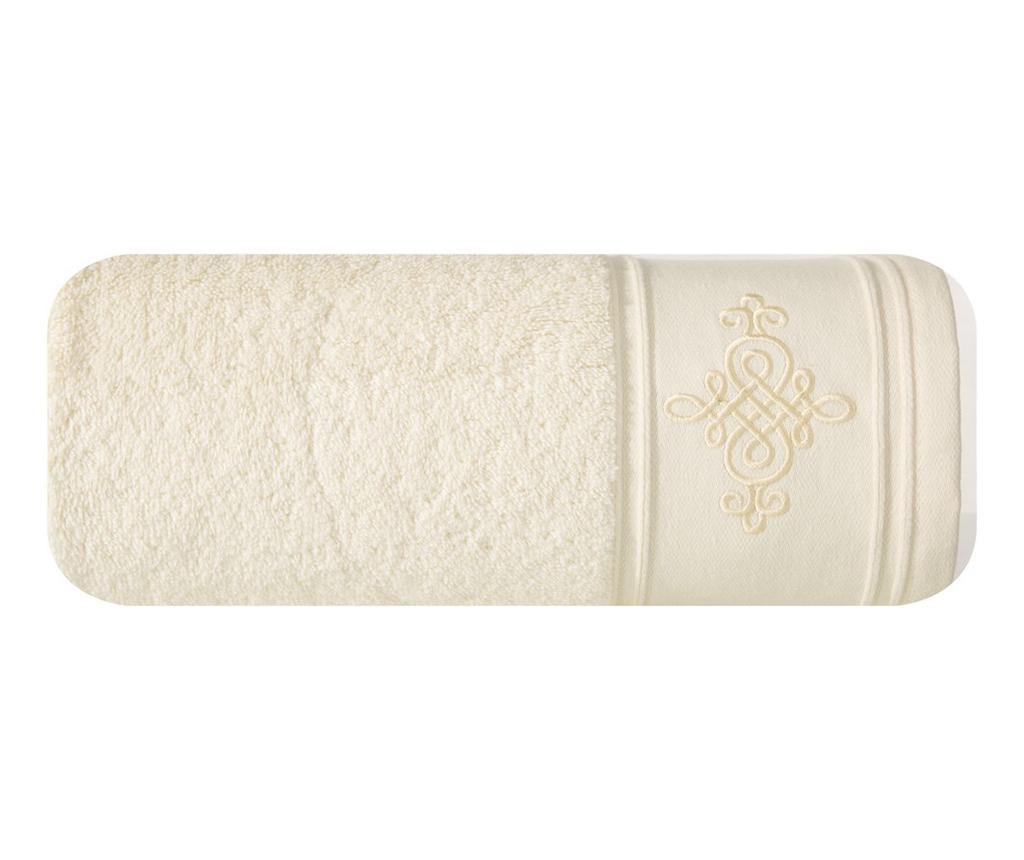 Klas Cream Fürdőszobai törölköző 50x90 cm