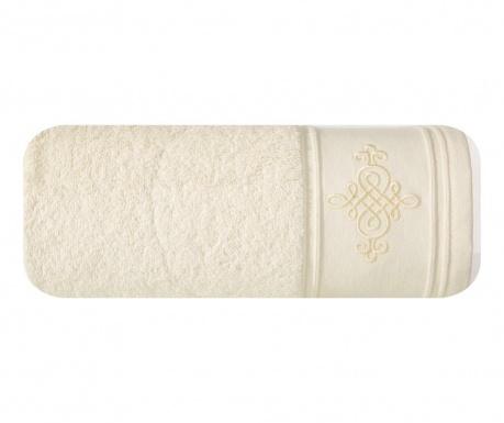 Πετσέτα μπάνιου Klas Cream 50x90 cm
