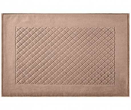 Covoras de baie Evita Light Brown 60x90 cm