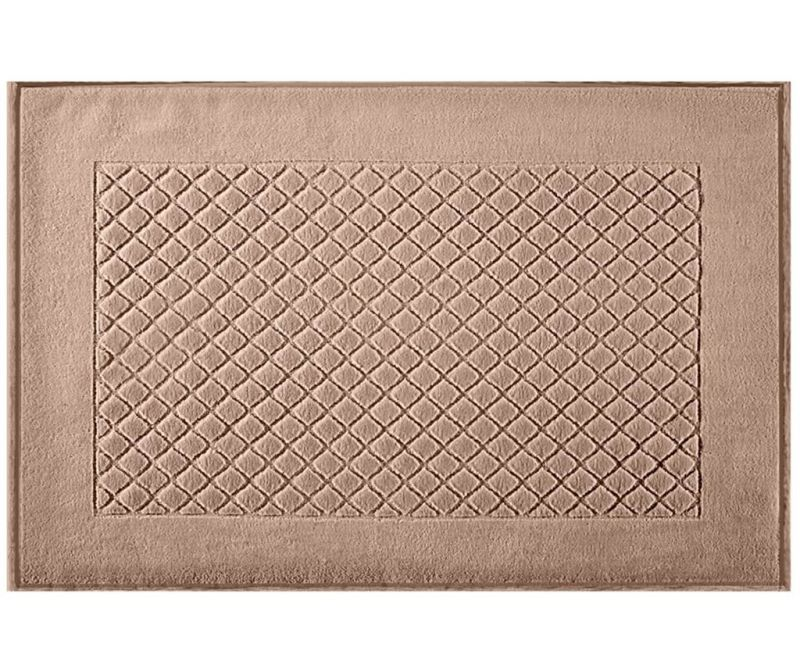 Evita Light Brown Fürdőszobai szőnyeg 60x90 cm